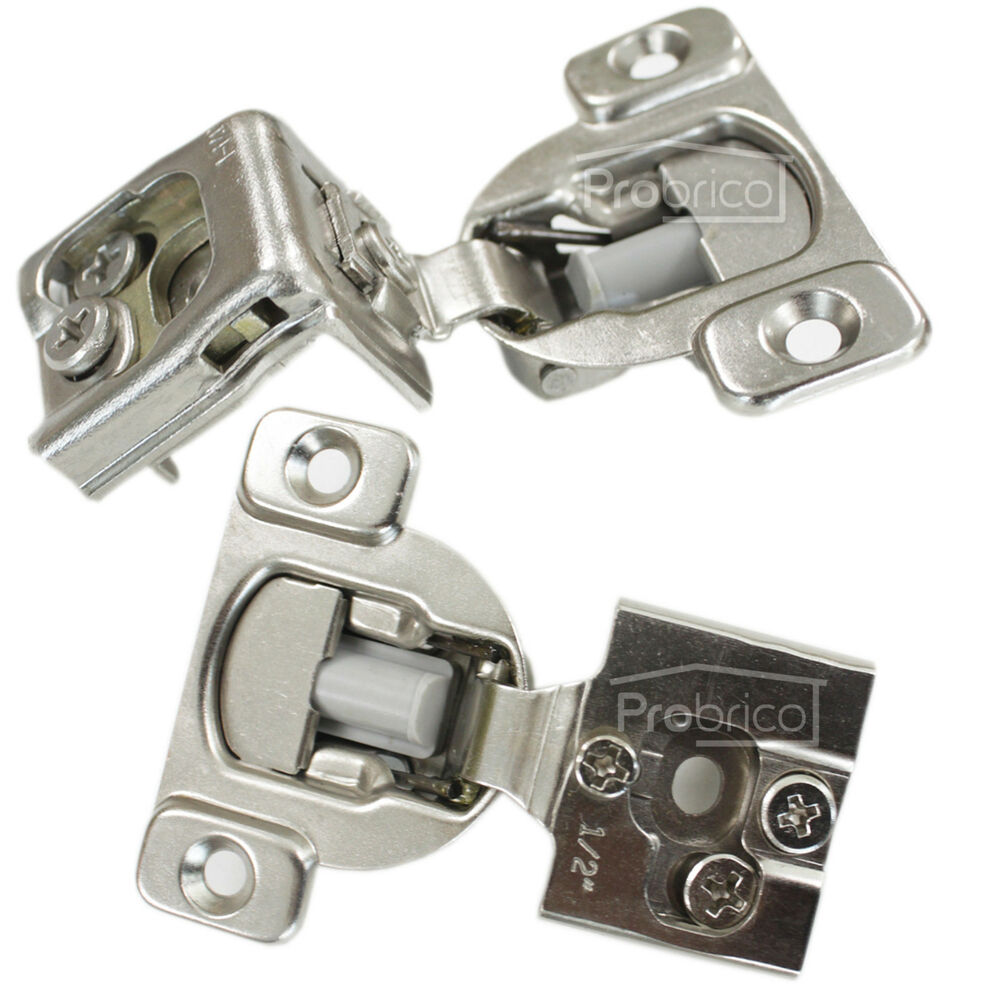 Concealed Frame Kitchen Cabinet Door Hinges 1 2 Quot 1 1 4