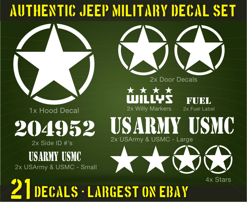 Military Car Stickers Uk