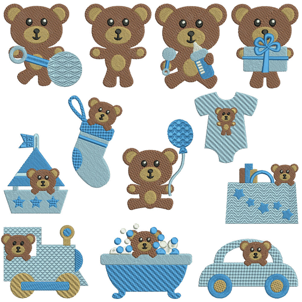 It S A Baby Girl Machine Embroidery Designs