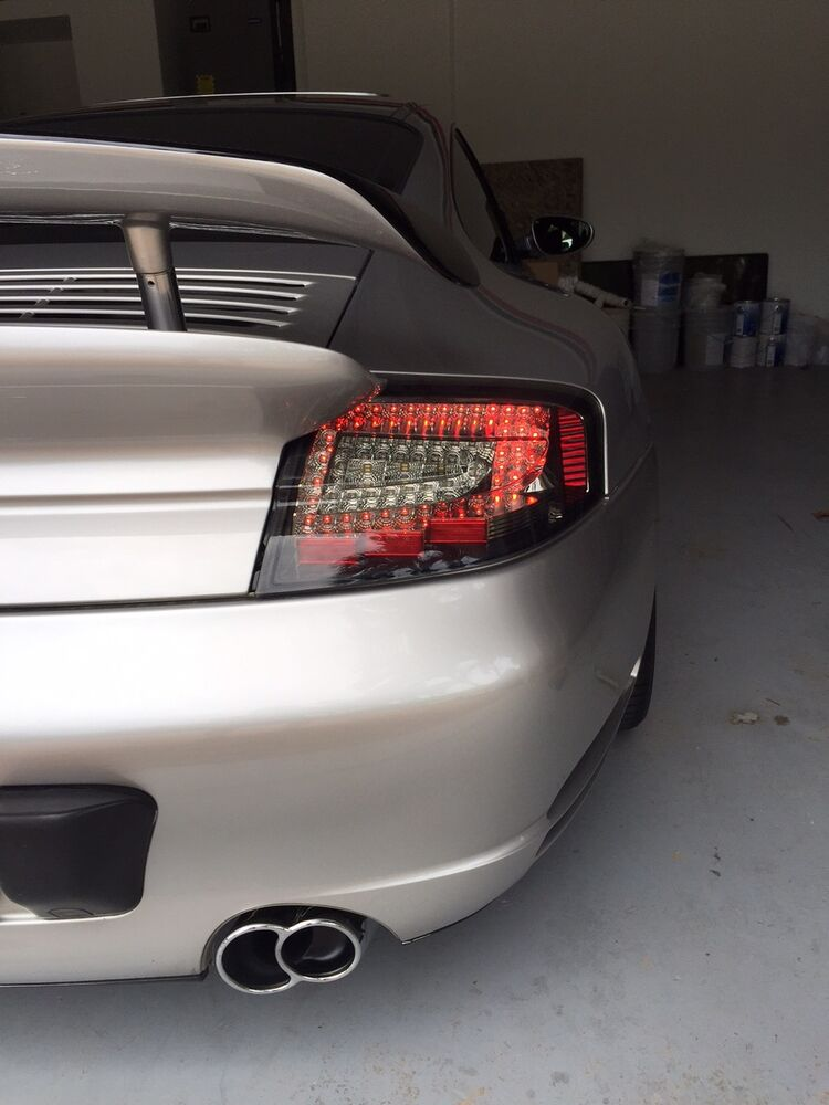 Porsche 911 996 Turbo Gt2 C4s Clear Smoke Led Tail