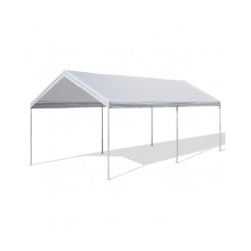 Car Canopy Steel Frame : Steel frame canopy shelter portable carport car