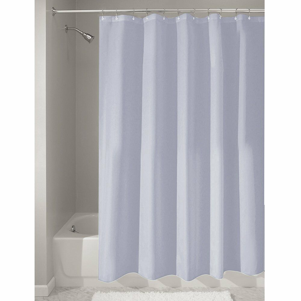 "Shower Curtain Mold Mildew Free Waterproof Fabric Bath 72""x72 ..."