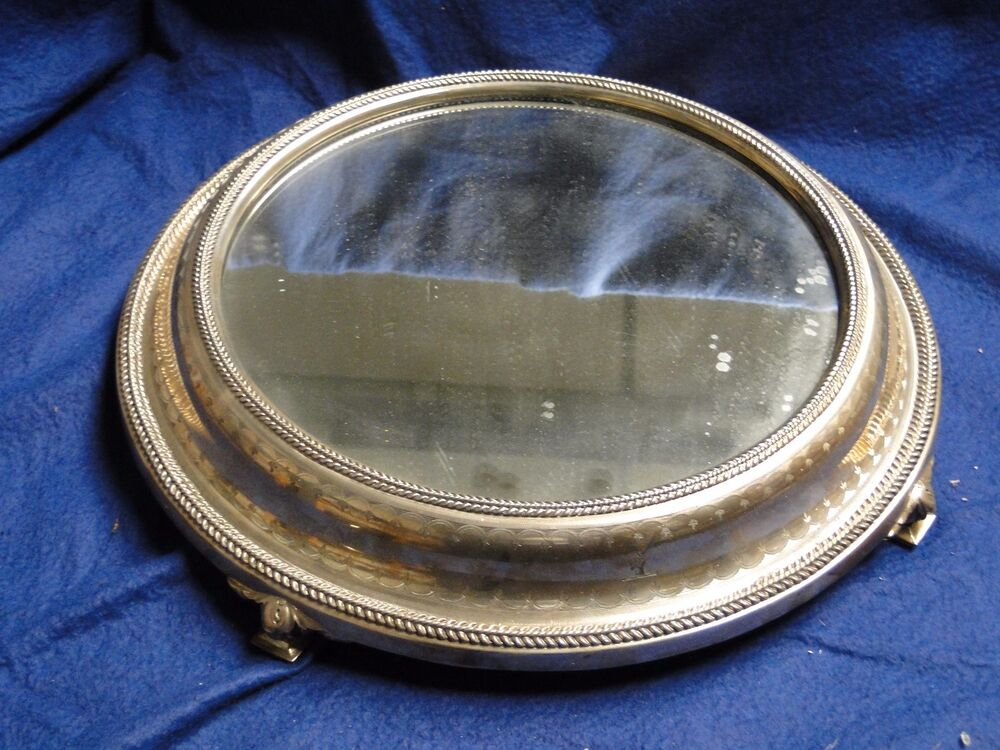 Victorian Silver Cake Stand