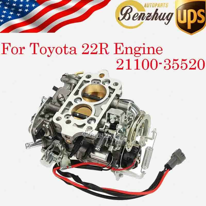 21100 35520 Carb Carburetor For Toyota 22r Engine Assembly