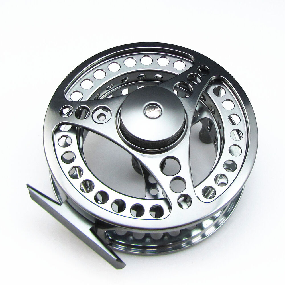 103mm 9 10 cnc machined aluminum fly fishing reel large for Fly fishing reels ebay