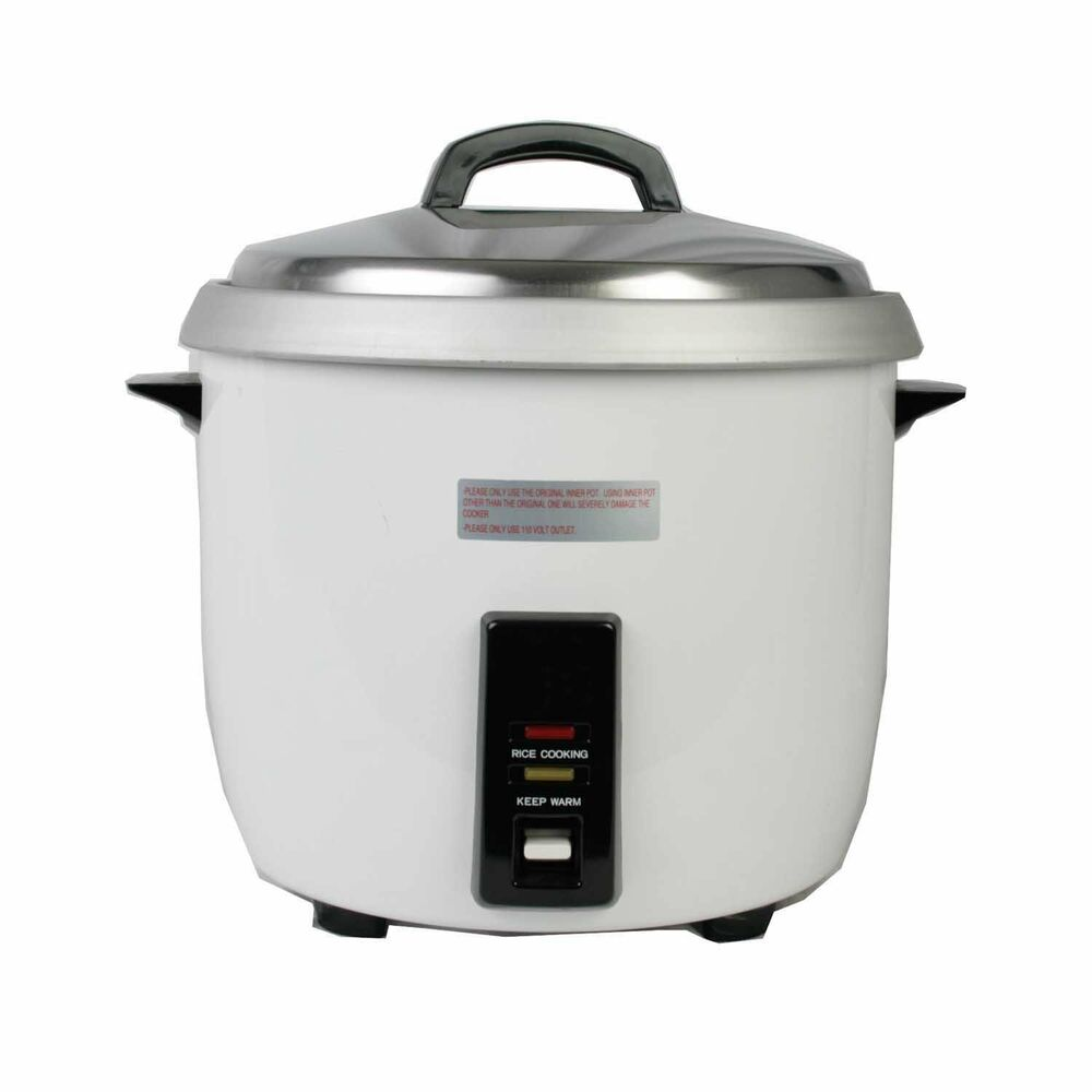 30 Cup Commercial Rice Cooker and Warmer TSEJ50000-9 | eBay