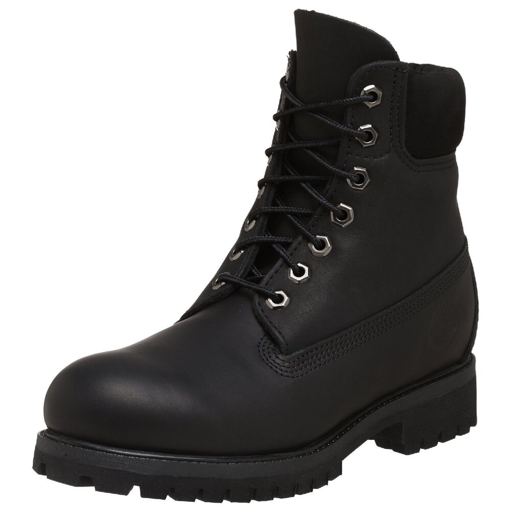 Men S Timberland Classic 6 Premium Waterproof Boot Black