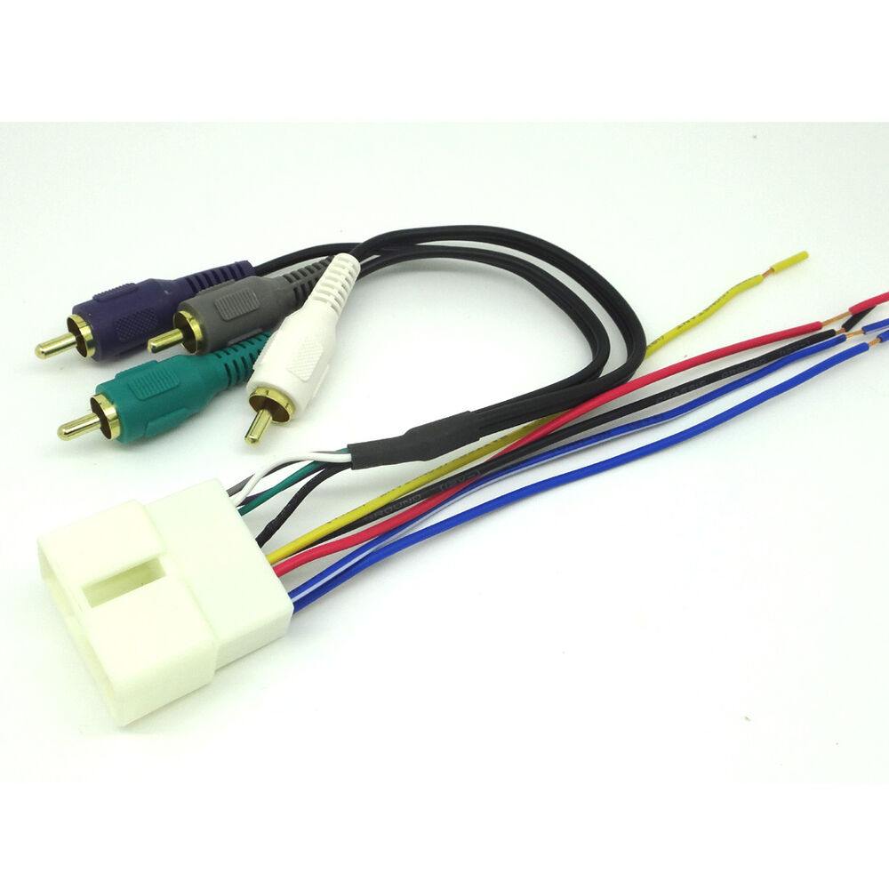 car stereo radio replacement wiring harness amp integration wire adapter ebay