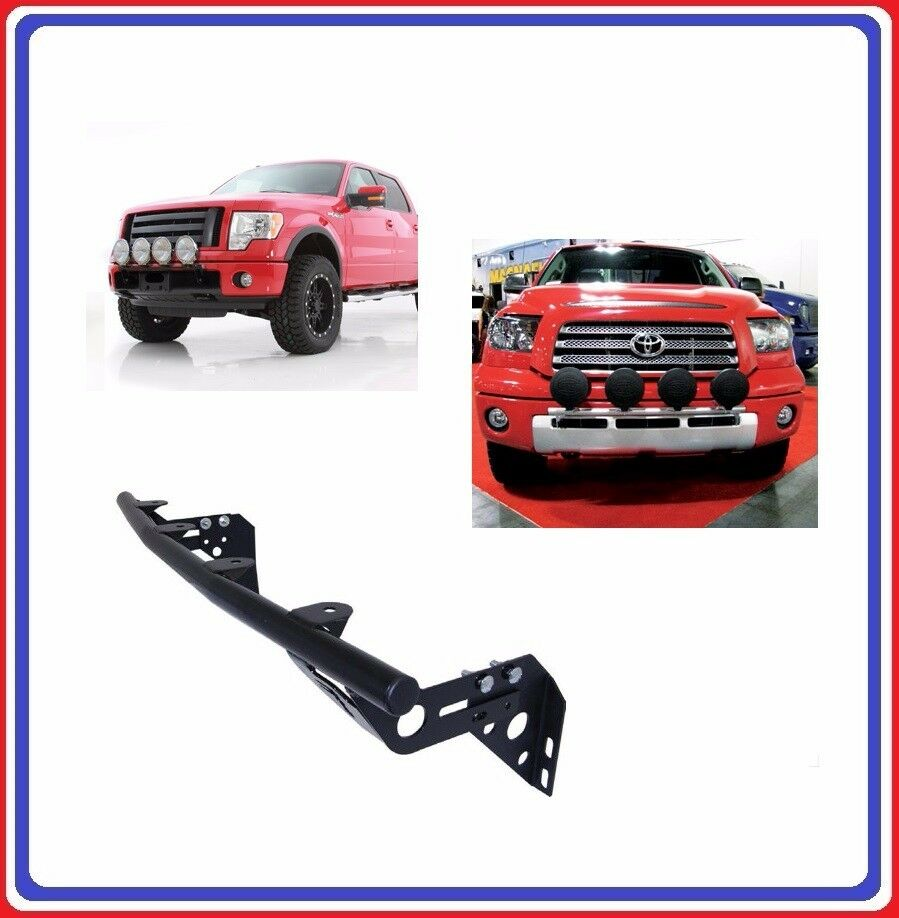Smittybilt Front Bumper Street Light Bar For 05 11 Toyota