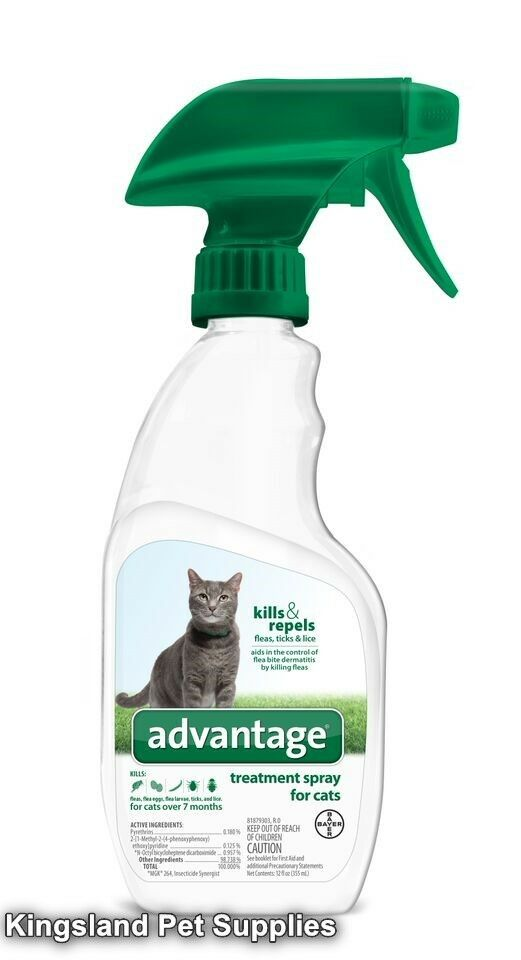 Advantage Ii Flea Treatment Spray For Cats