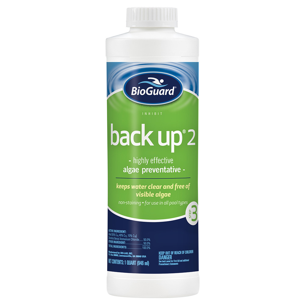 Bioguard Back Up Algaecide 1qt Ebay