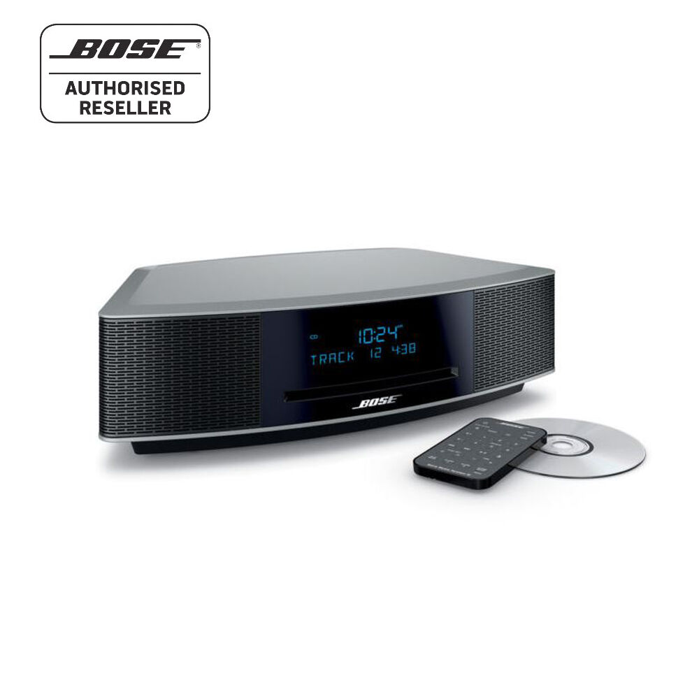 dab radio alarm clock bose bose wave cd dab radio alarm clock graphite grey music new boxed. Black Bedroom Furniture Sets. Home Design Ideas