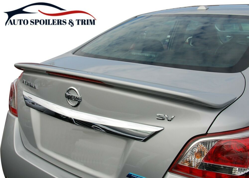 Black Nissan Altima >> #520 PAINTED FACTORY STYLE SPOILER - Fits The 2013 - 2015 ...