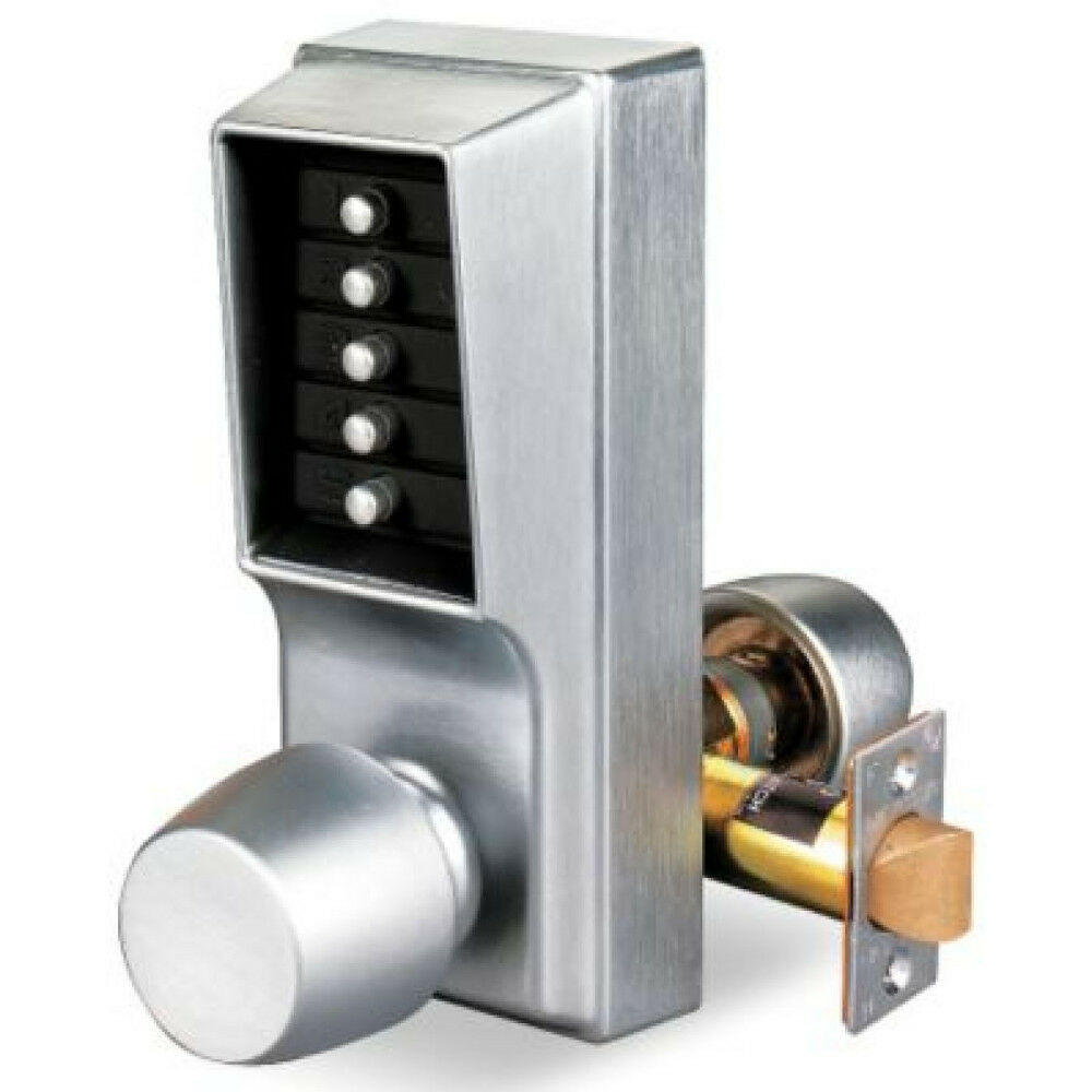 Kaba Simplex 1011 26d 41 Mechanical Pushbutton Lock With