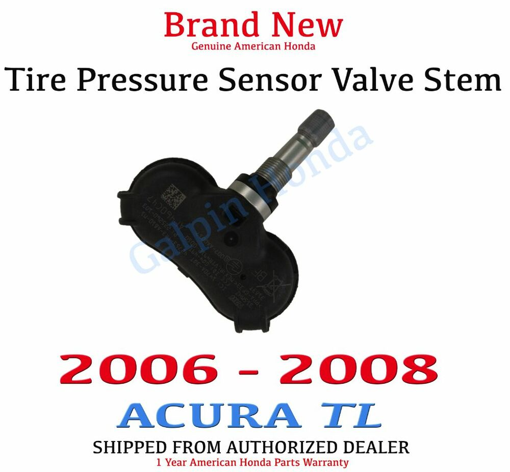 2006 2008 acura tl genuine oem tire pressure sensor for 2008 honda accord tire pressure