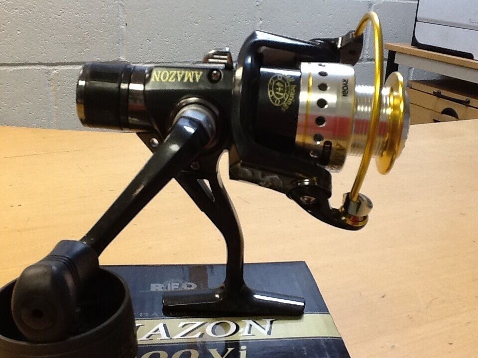 Ryobi amazon 1000vi spinning reel with spare spool ebay for Amazon fishing reels