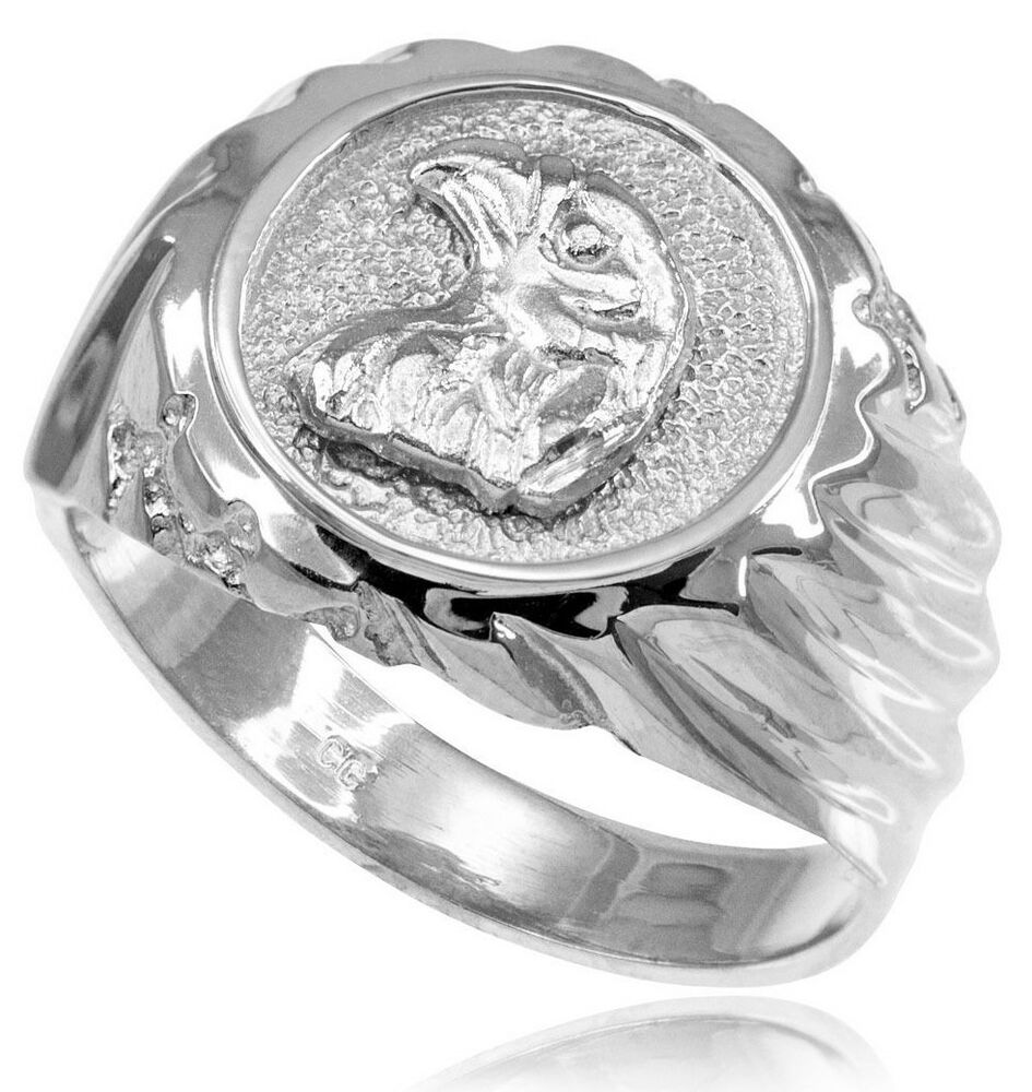 sterling silver eagle s ring ebay