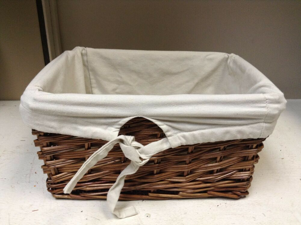 large woven wood wicker storage toy laundry basket. Black Bedroom Furniture Sets. Home Design Ideas