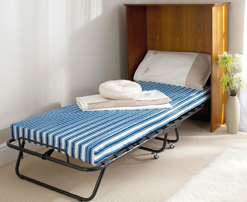 Folding single guest bed cover covers single beds size w for How to cover a bed