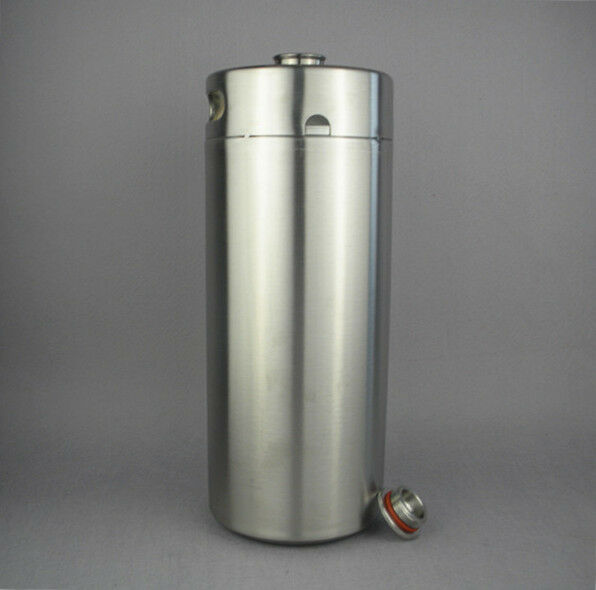 4l 128oz Stainless Steel Mini Keg Growler Beer Making Ebay