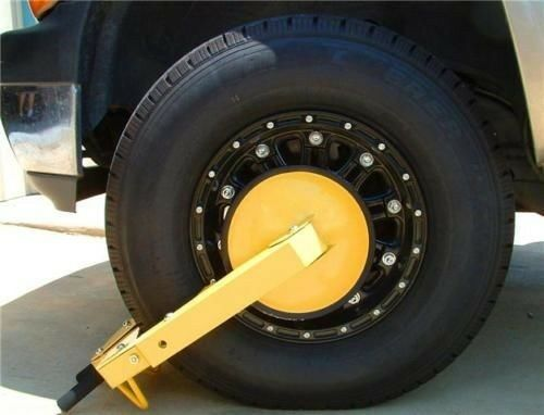 Tractor Tire Boots : Denver wheel boot lock for car truck trailer atv tractor
