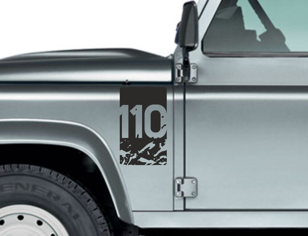 Land Rover Defender 110 Aftermarket Decal Wing Fender