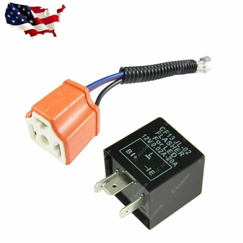 3 pin car flasher relay fix led turn signal light hyper. Black Bedroom Furniture Sets. Home Design Ideas