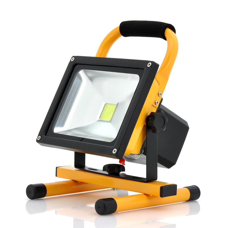 30W Rechargeable LED Flood Floodlight Work Light Portable ...