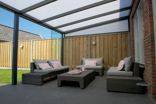 terrassendach aluminium 5x4 m pergola alu berdachung terrassen berdachung opal ebay. Black Bedroom Furniture Sets. Home Design Ideas