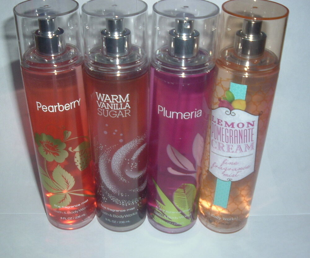 bath body works select fragrance mist 8 oz new nice
