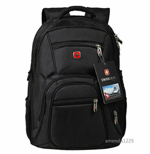 Swiss Bag Men Women Laptop Backpack Computer Outdoor