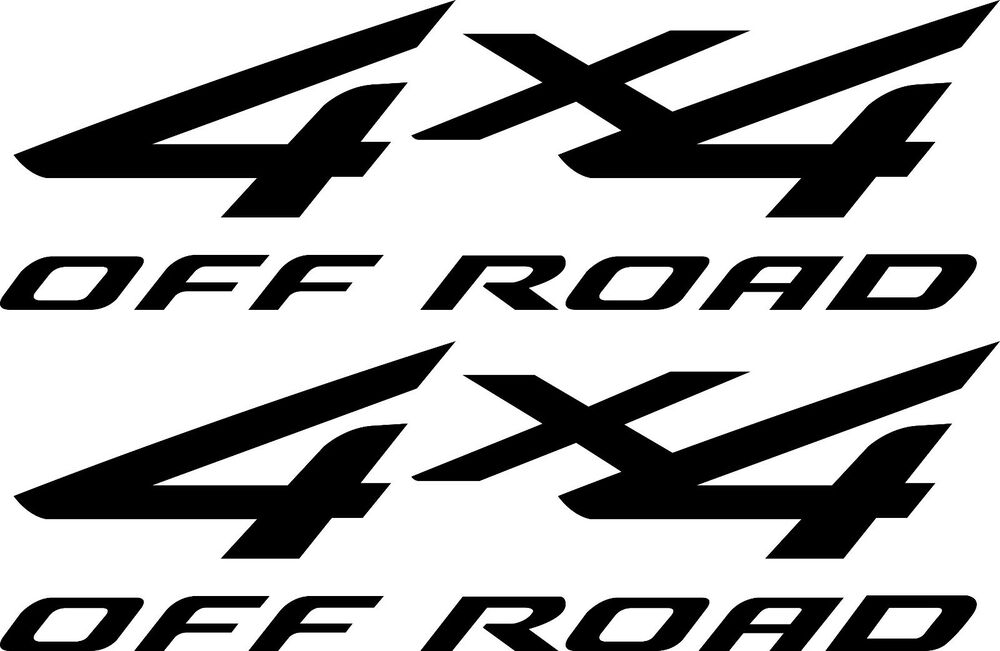 2007 ford f150 4x4 decals