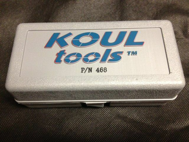 koul tool medium # 468 -4 -6 -8 an storage case fittings ss braided ...