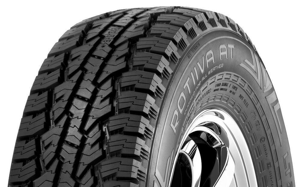 4 new 265 70r17 nokian rotiiva at all terrain tires 70 17 r17 2657017 a t 700aa ebay. Black Bedroom Furniture Sets. Home Design Ideas