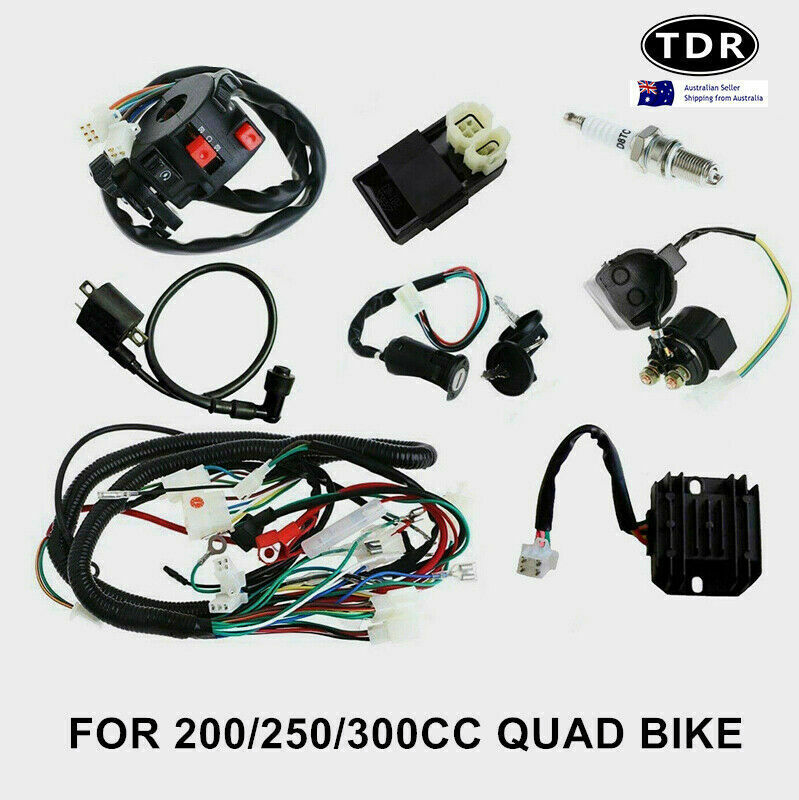 WRG-1299] Hummer Dirt Bike 250 Wiring Diagram