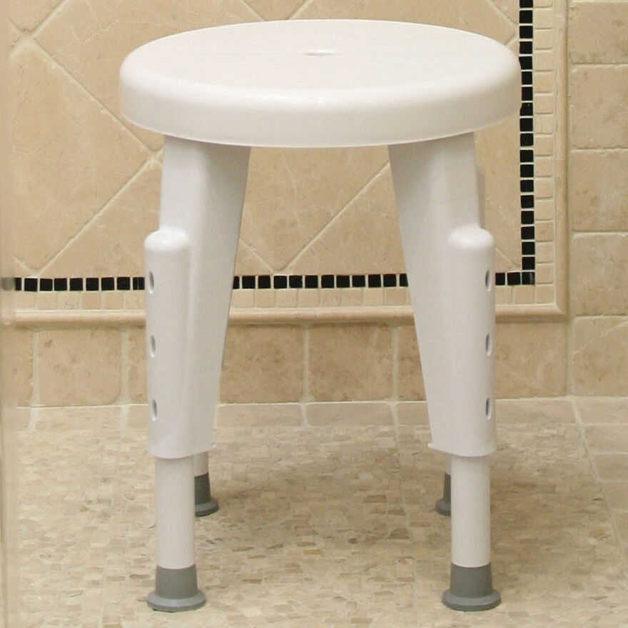 Adjustable Rotating Shower Chair Bath Mobility Chair Grip
