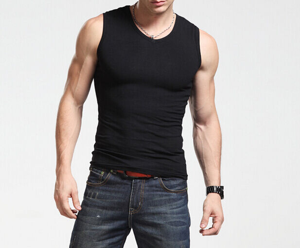 Styles of mens tank tops. Although theyre casual clothes, tank tops still let you show off your sense of style. When shopping for sleeveless shirts for warm weather, consider their designs and choose those most suitable for your build and favorite summer activities.