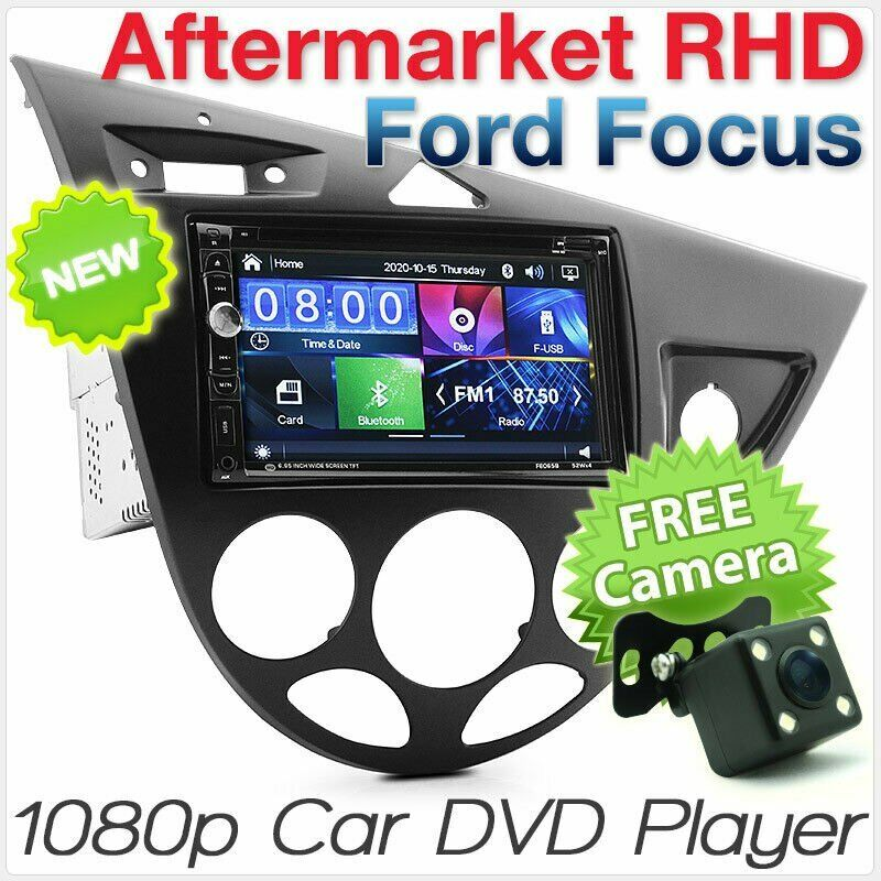 ford focus mk1 1998 2004 car dvd mp3 player head unit radio stereo fascia kit 2g ebay. Black Bedroom Furniture Sets. Home Design Ideas