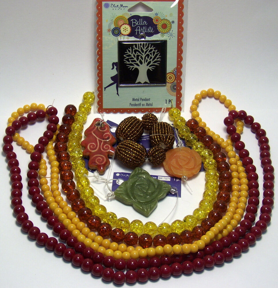 WHOLESALE JEWELRY MAKING SUPPLIES LOT-TREE OF LIFE-AUTUMN