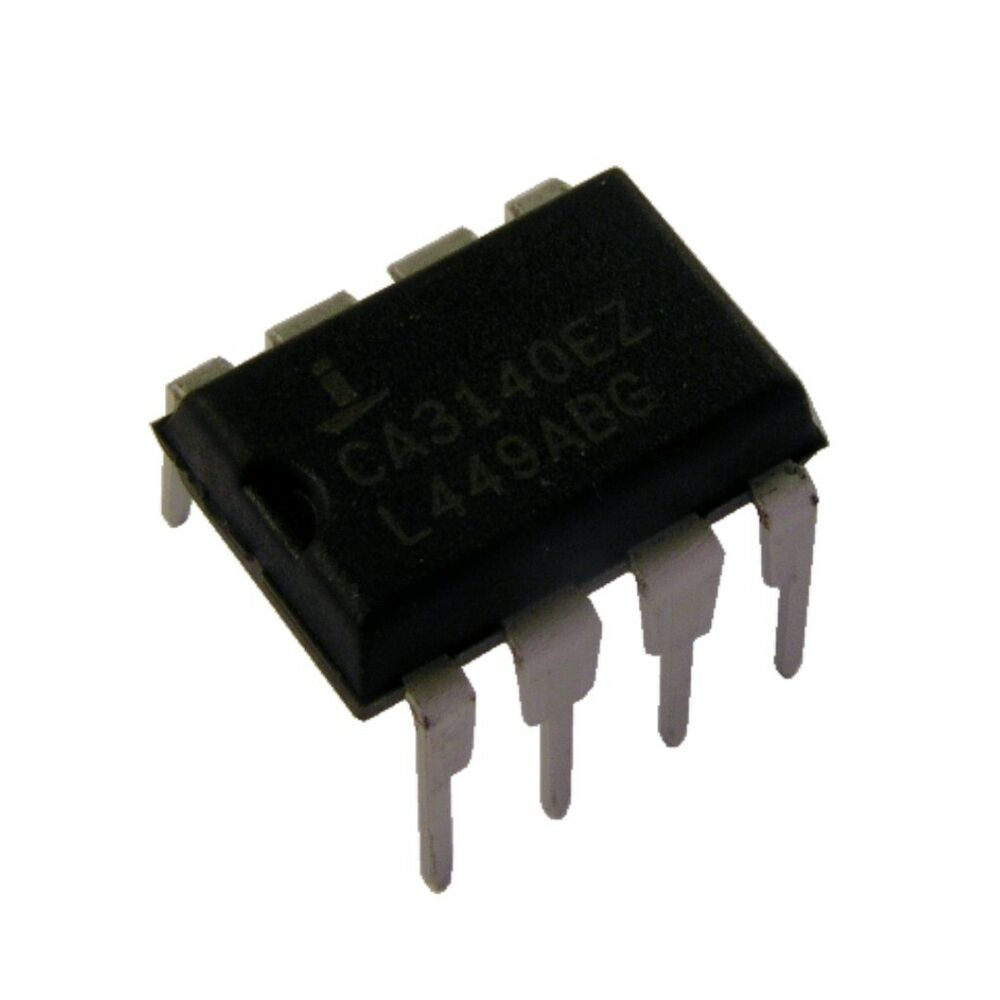 2 Ca3140 Intersil Bimos Operationsverstrker Opamp 45mhz Amplifier Currentamplifierca3140 Dip 8 854782 Ebay