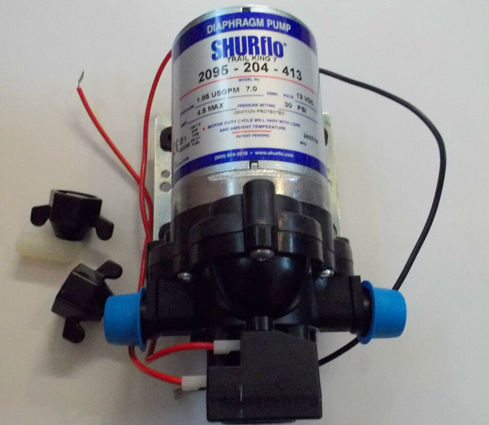 shurflo water pump 30psi 12v 2 1 bar automatic trail king caravan motorhome boat ebay