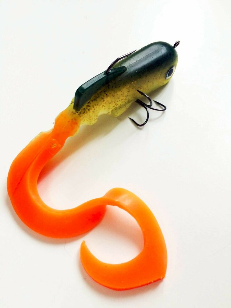 Soft Silicone Plastic Fish Saltwater Freshwater Fishing
