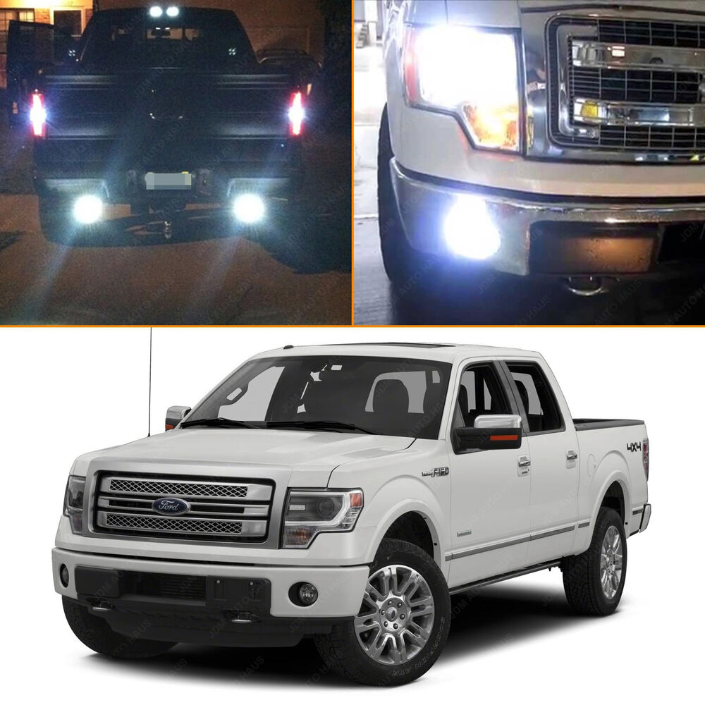 2009 Ford Expedition Exterior: 10x Premium White LED Exterior Light Package Kit 2009-2014