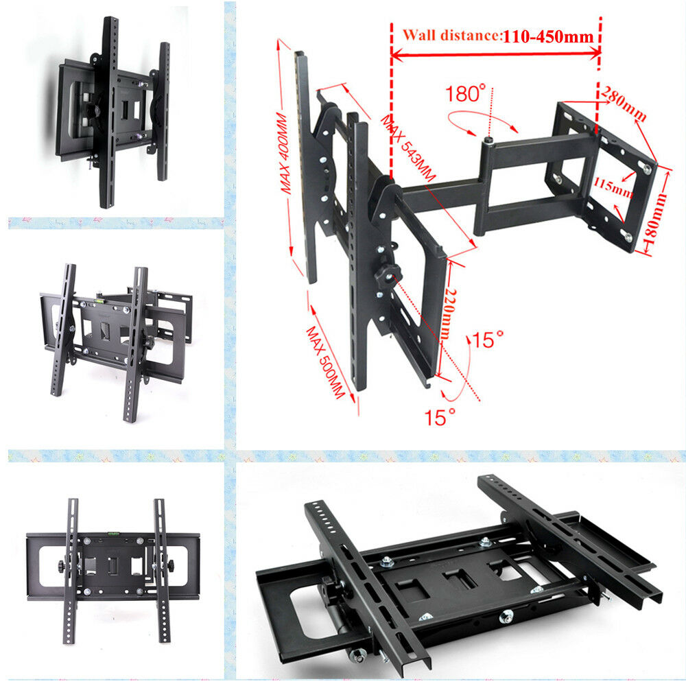 Tilt Swivel Tv Wall Mount Bracket Lcd Led Plasma 30 37 42