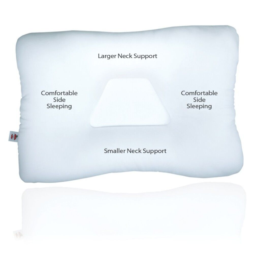 core products tri core pillow quality fiber cervical support spine cor 220 ebay. Black Bedroom Furniture Sets. Home Design Ideas