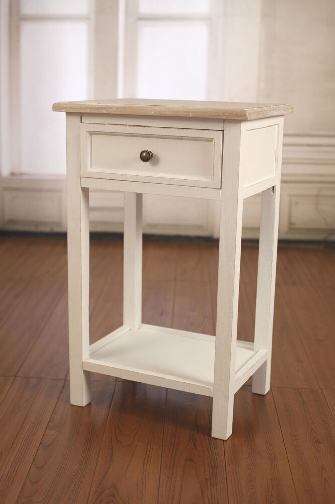 Bedside table french provincial night stand grey wash for French nightstand bedside table