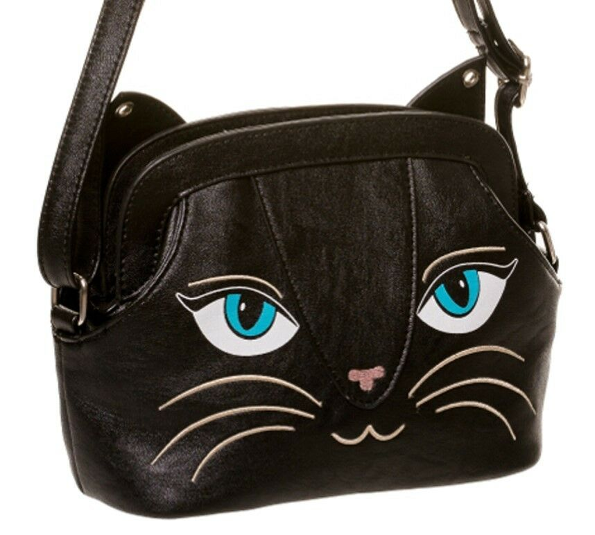 Black Cats Shoulder Bag Uk