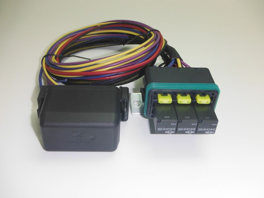 Fuse And Relay Box For Automotive : Universal waterproof fuse relay box panel car truck atv