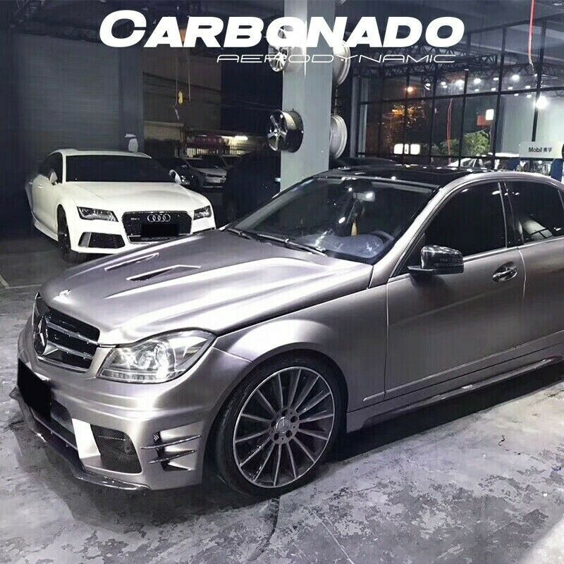 2012 2014 mercedes benz c class w204 4dr sedan be style for Mercedes benz c300 body kit