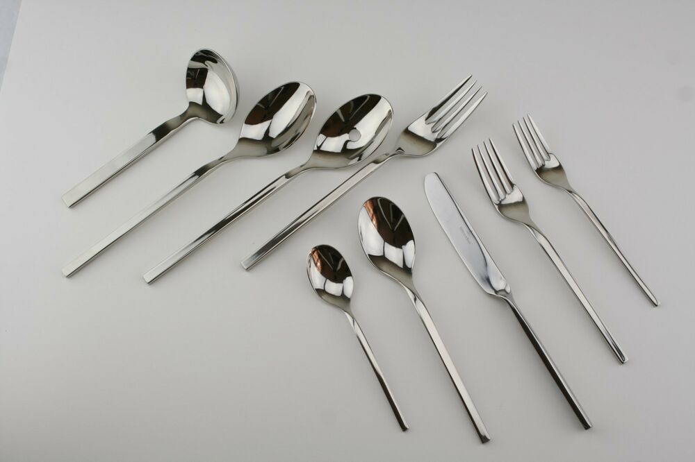 Villeroy boch new wave 18 10 stainless used flatware for Villeroy boch wave